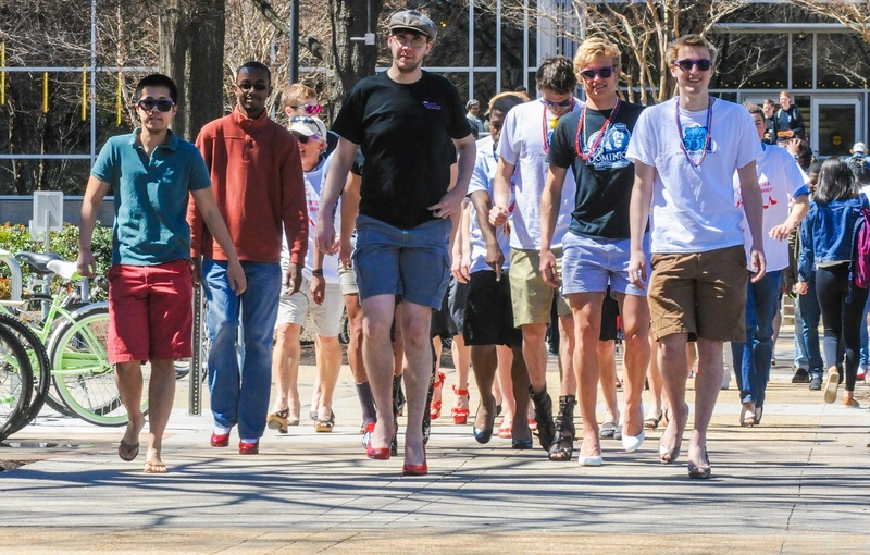 Walk a Mile in Her Shoes Event, 2015