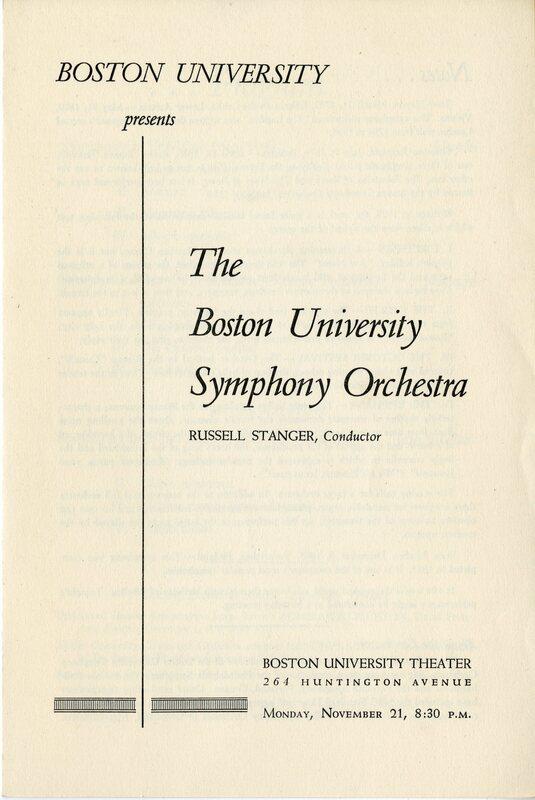 Stanger at Boston University.