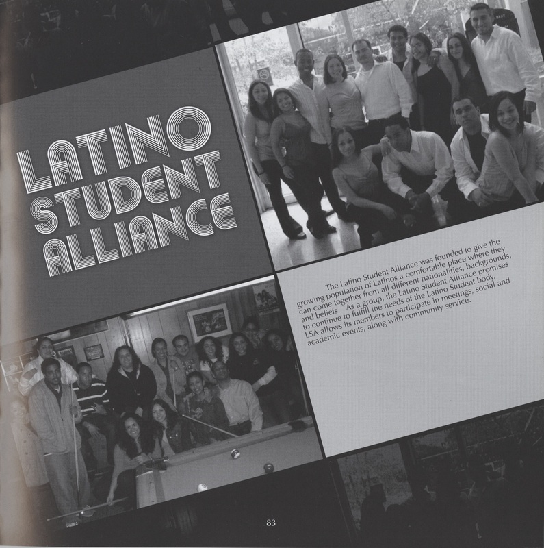 Latino Student Alliance Group Photo