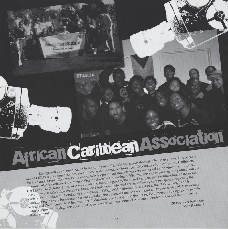 African Caribbean Association Group Photo