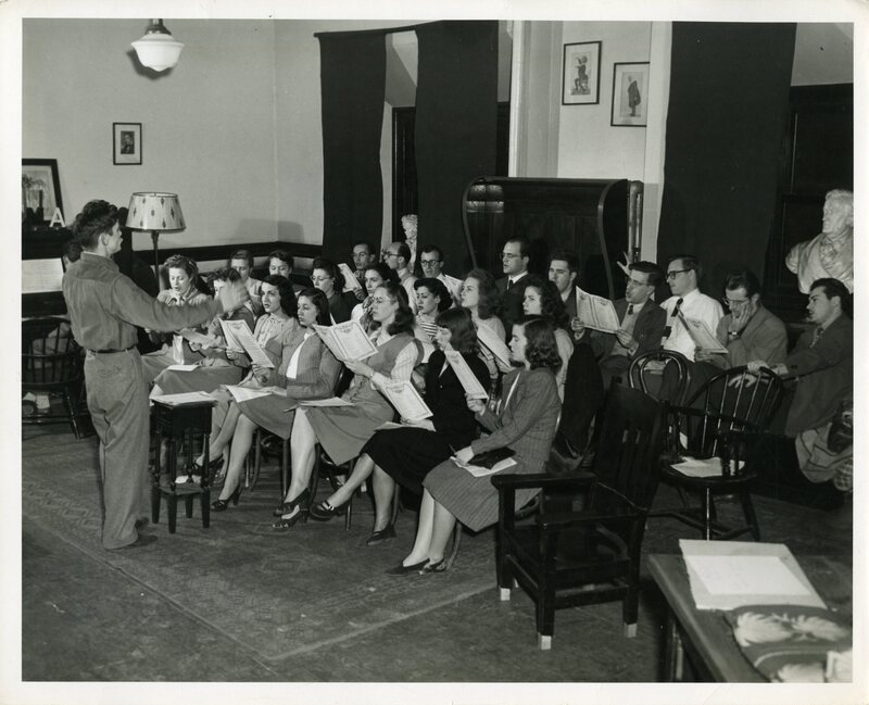 Stanger with CSM Chorus.