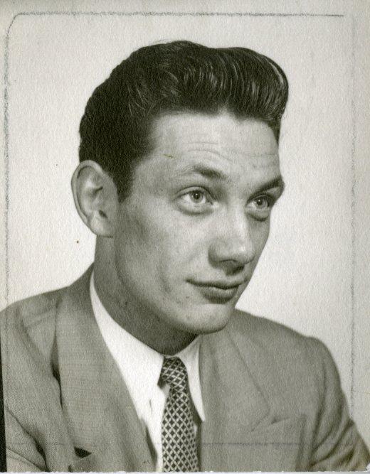 Stanger portrait circa late 1940s.