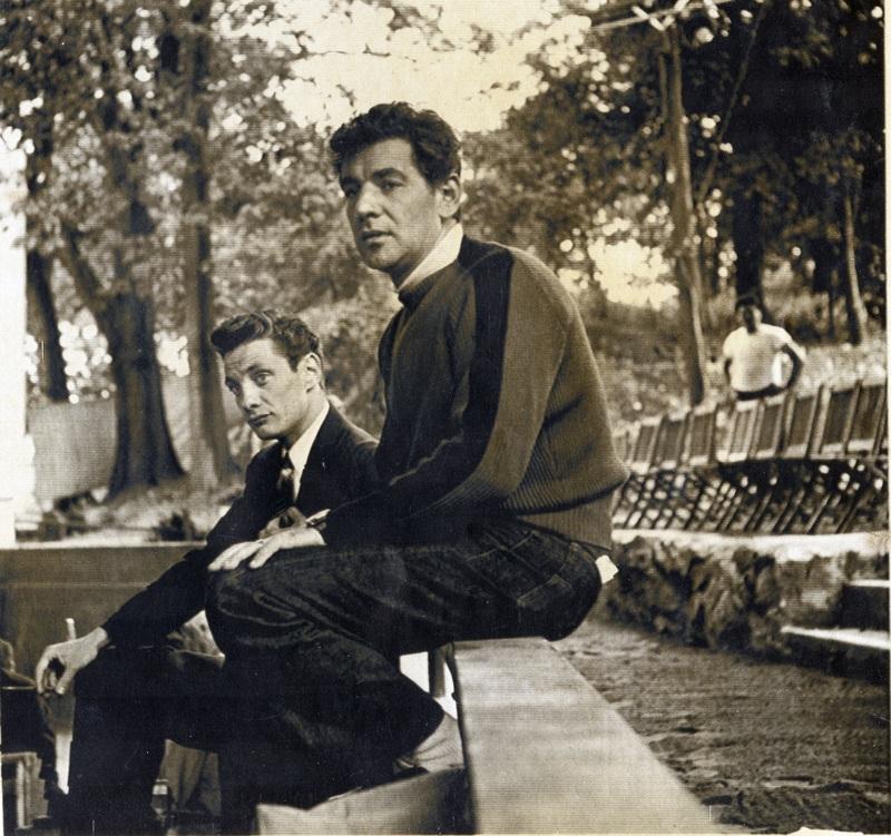 Stanger and Bernstein at Brandeis.