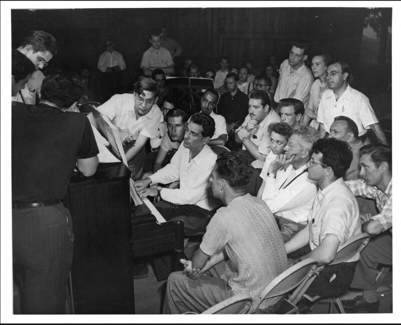 Bernstein at the Piano.