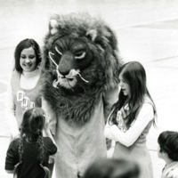 A Scary Big Blue with Cheerleaders, early 1970s