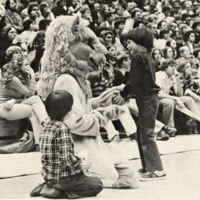 Big Blue with Little Fans, late 1970s