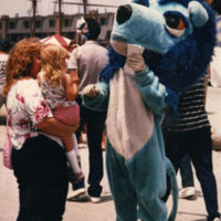 A Colorful Big Blue at Harborfest, 1980s