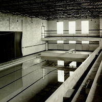 Swimming Pool and Bleachers