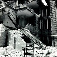 Destruction of Old Academic Building