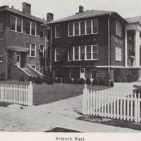 Science Hall Original Building, 1940