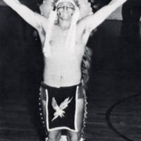 """The """"Braves"""" Mascot, 1950s"""