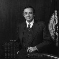 Portrait of President Alfred B. Rollins, Jr.