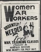 Women War Workers Poster